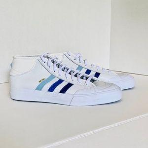 adidas Matchcourt Mid Adv Na-Kel LTD White + Blue